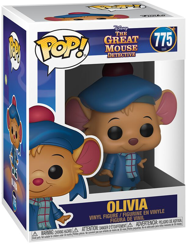 Basil the Great Mouse Detective Olivia Vinyl Figure 775 (figuuri)