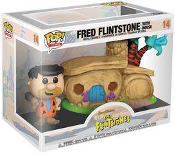 The Flintstones Fred Flintstone with House (POP! Town) Vinyl Figure 14 (figuuri)