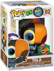 Around the World - Tula (POP and Pin) (Brazil) (Funko Shop Europe) Vinyl Figure 02 (figuuri)