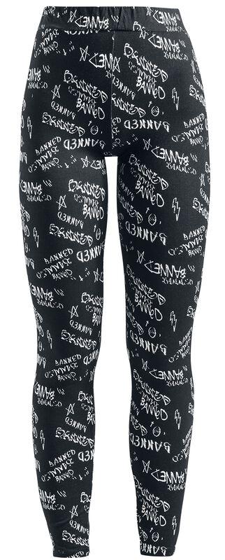 Grafitti Jersey Leggings