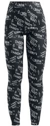 Grafitti Jersey Leggings
