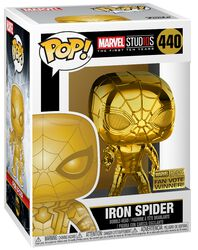 Marvel Studios 10 - Iron Spider (Chrome) Vinyl Figure 440 (figuuri)