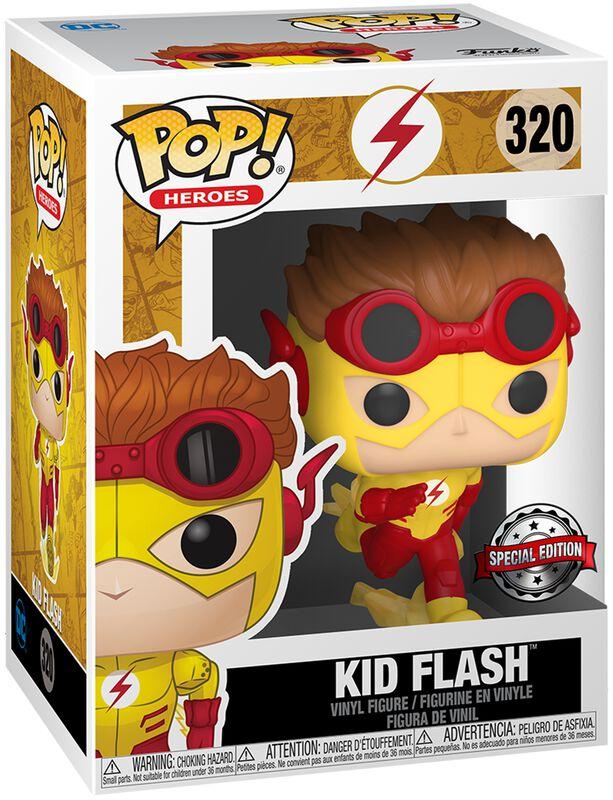 Kid Flash (Chase-mahdollisuus) Vinyl Figure 320 (figuuri)