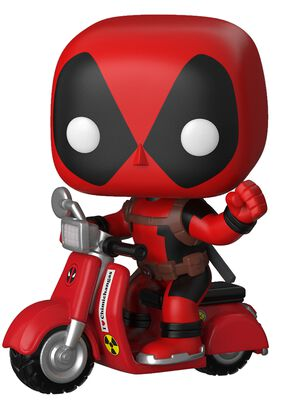 Deadpool on Scooter Vinyl Figure 48 (figuuri)