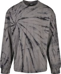 Boxy Tye Dye LS pitkähihainen paita