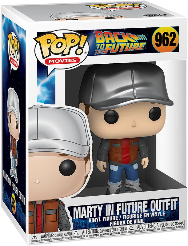 Marty in Future Outfit Vinyl Figure 962 (figuuri)