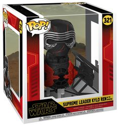 Episode 9 - The Rise of Skywalker - Supreme Leader Kylo Ren in the Whisper (POP Deluxe) Vinyl Figure 321 (figuuri)