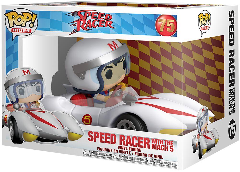 Speed Racer Speed Racer With Mach 5  (POP Rides) Vinyl Figure 75 (figuuri)