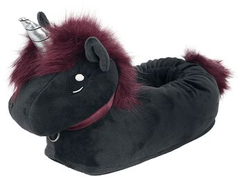 Corimori - Ruby Punk Unicorn Children's Slippers