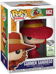 Where in the World is Carmen Sandiego? ECCC 2019 - Carmen Sandiego Vinyl Figure 662 (figuuri)