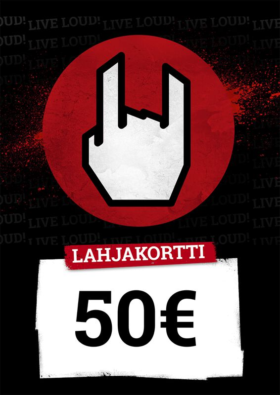 Lahjakortti 50,00 EUR
