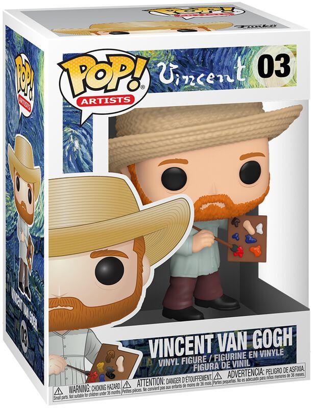 Artists - Vincent van Gogh Vinyl Figure 03 (figuuri)