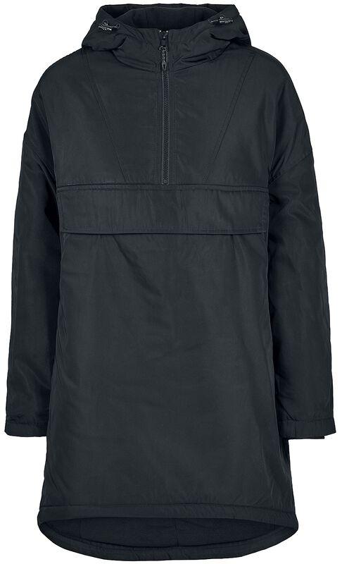 Ladies Long Oversized Pull Over Jacket takki