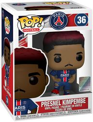 Football Paris Saint-Germain - Presnel Kimpembe Vinyl Figure 36 (figuuri)