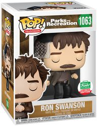 Parks And Recreation Ron Swanson (Funko Shop Europe) Vinyl Figure 1063