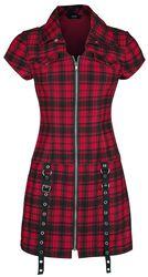 Tartan Night Zip Dress