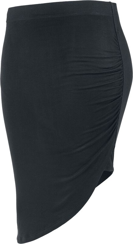Asymmetric Viscose Skirt