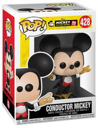 Mickey's 90th Anniversary - Conductor Mickey Vinyl Figure 428 (figuuri)