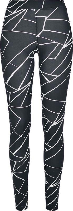 Ladies AOP Geometric Leggings leggingsit