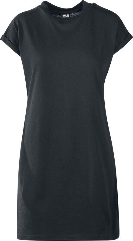 Ladies Turtle Extended Shoulder Dress lyhyt mekko