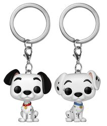 Pongo and Perdita  - POP! Keychain 2-Pack