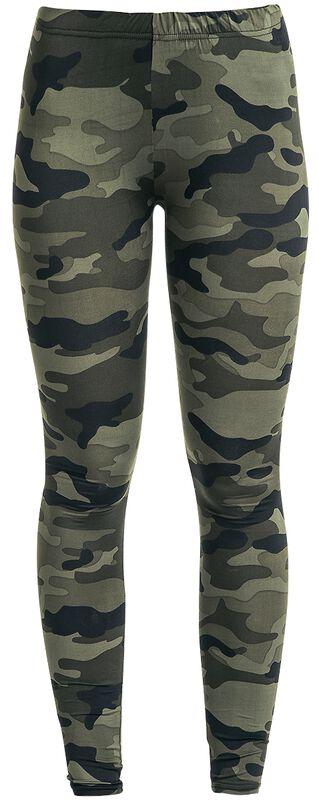 Ladies Camo Leggings leggingsit
