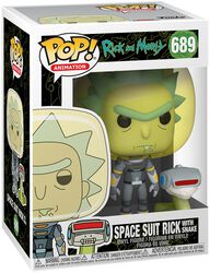 Season 4 - Space Suit Rick With Snake Vinyl Figure 689 (figuuri)