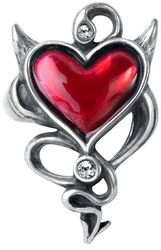 Devil Heart Ring