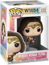 1984 - Wonder Woman Flying Vinyl Figure 322 (figuuri)