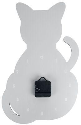 Akryylinen seinäkello Cat