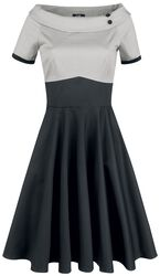 Darlene Retro Full Circle Swing Dress