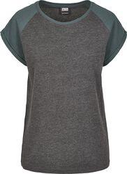 Ladies Contrast Raglan Tee T-paita