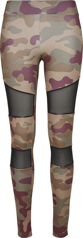 Ladies Camo Tech Mesh Leggings leggingsit