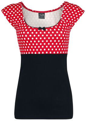 Red Dots Basic Shirt
