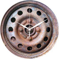 Lasinen Seinäkello Wheel Rim