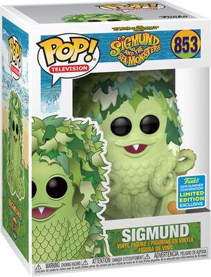 Sigmund and the Sea Monsters SDCC 2019 - Sigmund (Funko Shop Europe) Vinyl Figure 853 (figuuri)