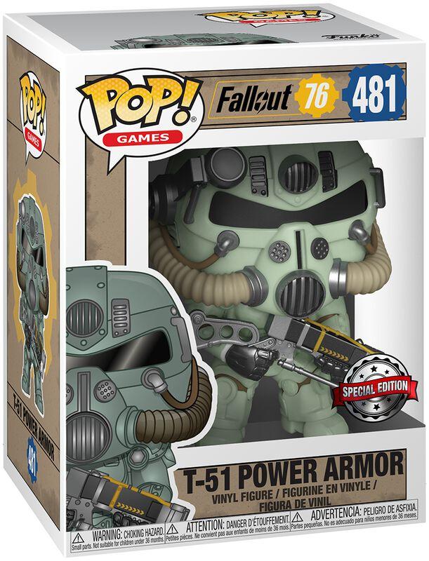 76 - T-51 Power Armor Vinyl Figure 481 (figuuri)
