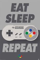 Eat Sleep SNES Repeat