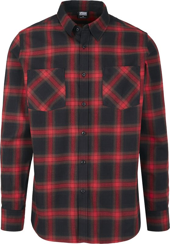 Checked Flanell Shirt 6 kauluspaita