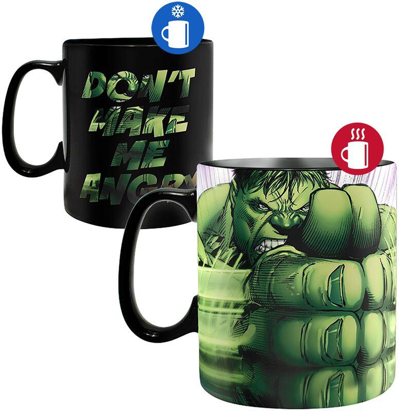Hulk Smash - lämpöön reagoiva muki