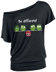 Naiset Vaatteet T-paidat   topit T-paidat. Be Different! cc8a06ff41