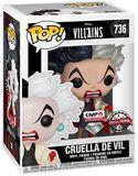 Cruella De Vil (Glitter) Vinyl Figure 736 (figuuri)