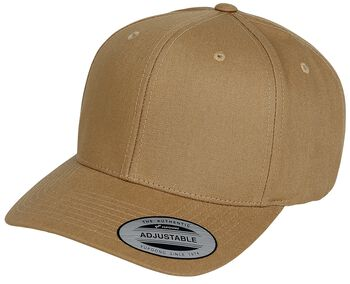 6-Panel Curved Metal Snap