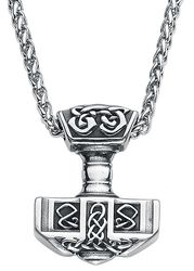 Thor's Hammer with Celtic Knots