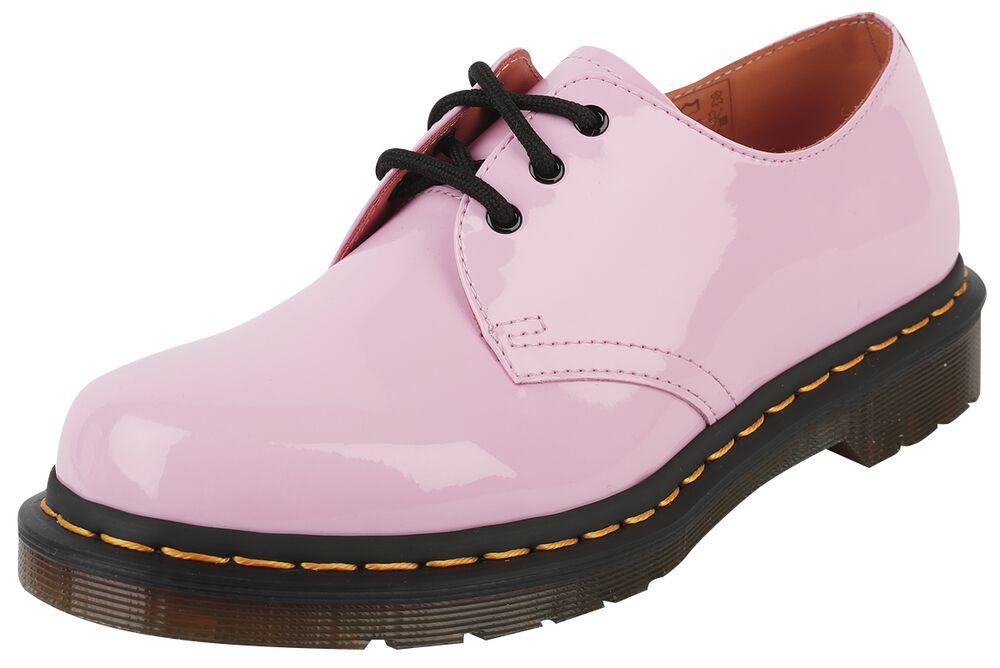 1461 Pale Pink Patent Lamper 3 Eye Shoe nauhakengät