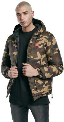 Reversible Hooded Puffer Jacket toppatakki