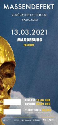 Zurück ins Licht - Magdeburg - 13.03.2021 - Factory