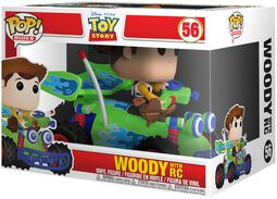 Woody with RC POP! Rides Vinyl Figure 56 (figuuri)