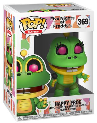 Pizza Sim  - Happy Frog Vinyl Figure 369 (figuuri)