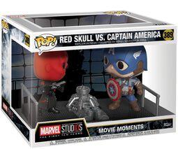 Red Skull vs. Captain America (Movie Moments) Vinyl Figure 389 (figuuri)